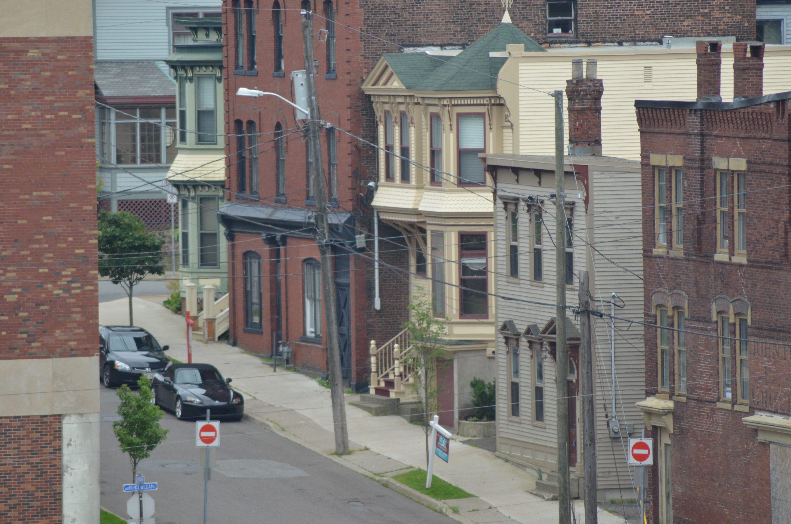huizen eenrichtingsstraat